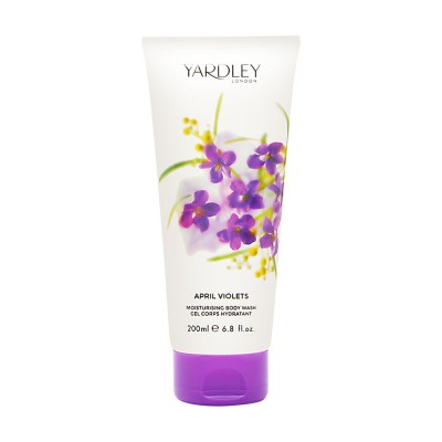 Yardley London April Violets Moisturising Body Wash 200 ml