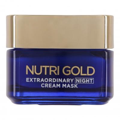 L'Oreal Nutri Gold Extraordinary Cream Mask Night 50 ml