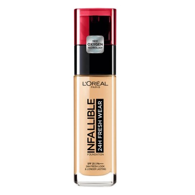 L'Oreal Infallible 24H Fresh Wear Foundation 120 Vanilla 30 ml