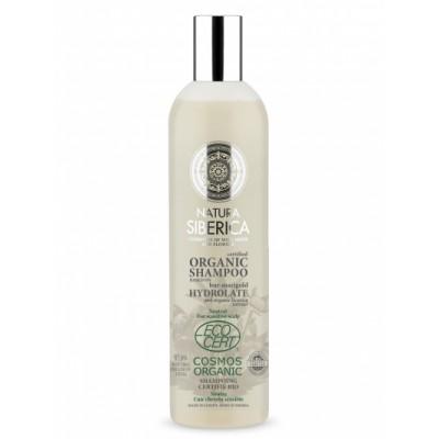 Natura Siberica Bur-Marigold Hydrolate Neutral Shampoo Sensitive Scalp 400 ml
