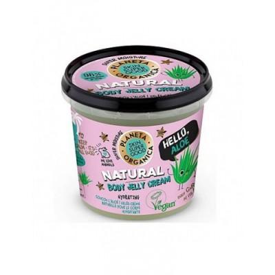Planeta Organica Natural Body Jelly Cream 360 ml
