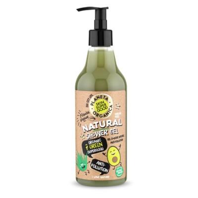 Planeta Organica Natural Organic 7 Green Superfood Shower Gel 500 ml