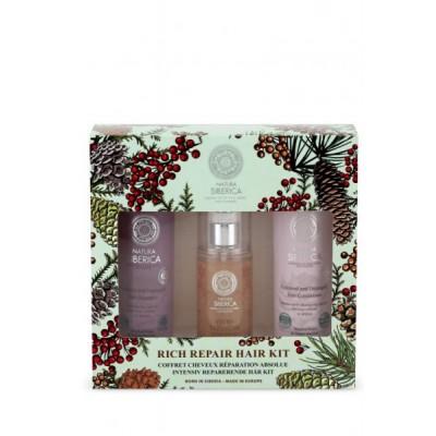 Natura Siberica Rich Repair Hair Kit Shampoo & Balsam & Hair Mask 2 x 250 ml + 125 ml