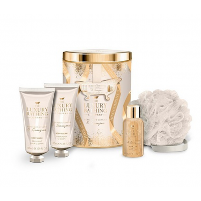 The Luxury Bathing Company Impress Gift Set 2 x 100 ml + 50 ml + 1 stk