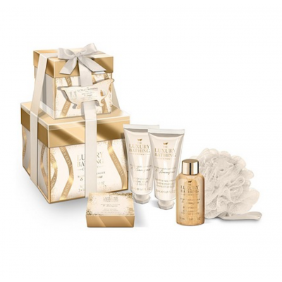 The Luxury Bathing Company Obsession Gift Set 3 x 50 ml + 80 g + 1 st