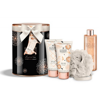 Grace Cole Luxury Bathing Collection The Body Edit Gift Set 2 x 150 ml + 200 ml + 1 st
