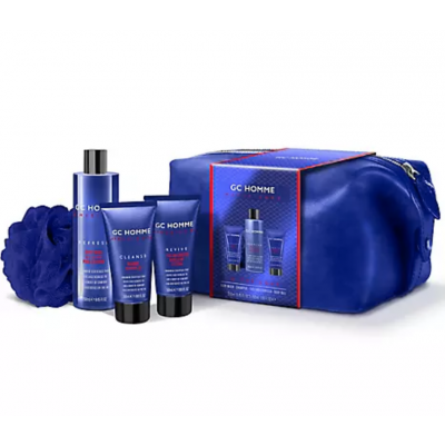 Grace Cole GC Homme Athleisure In The Zone Gift Set 2 x 50 ml + 250 ml + 1 kpl
