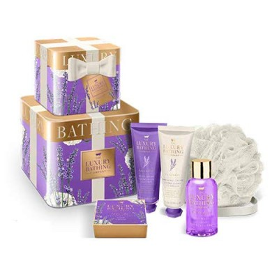 The Luxury Bathing Company Lavender Daydream Believer Gift Set 3 x 50 ml + 80 g + 1 st
