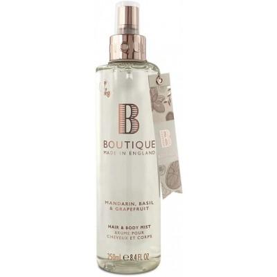 Boutique Mandarin & Basil & Grapefruit Hair & Body Mist 250 ml