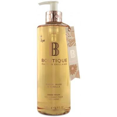 Boutique Amber Musk & Vanilla Hand Wash 500 ml