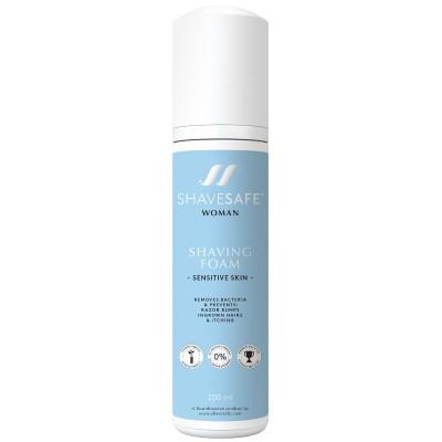 ShaveSafe  Shaving Foam Sensitive Skin 200 ml