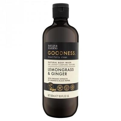 Baylis & Harding Goodness Lemongrass & Ginger Body Wash 500 ml