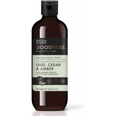 Baylis & Harding Goodness Oud Cedar & Amber Body Wash 500 ml