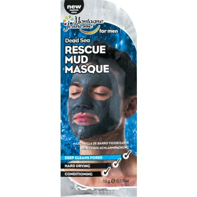 Montagne Jeunesse For Men Dead Sea Rescue Mud Masque 15 g