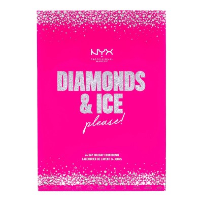 NYX Diamonds & Ice Please! Julekalender 24 stk