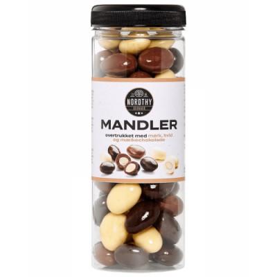 Nordthy Mandlar Med Blandad Choklad 325 g