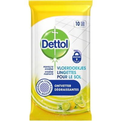 Dettol Perfect Hygiejne Wipes Lemon 10 kpl