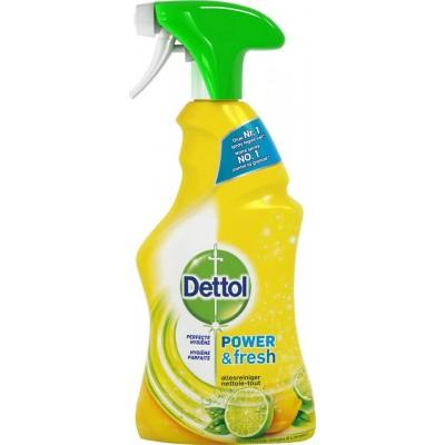Dettol Multi-Purpose Power & Fresh Cleaner Spray Lemon & Lime 500 ml