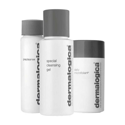 Dermalogica Cleanse & Glow To Go Skincare Gift Set 30 ml + 50 ml + 13 g