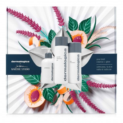 Dermalogica Your Best Cleanse + Glow Gift Set 150 ml + 250 ml + 74 g
