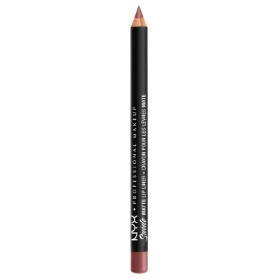 NYX Suede Matte Lip Liner Whipped Caviar 1 stk