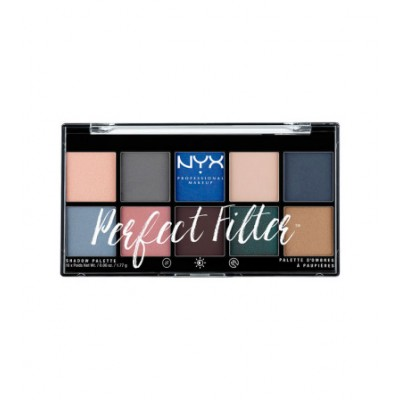 NYX Perfect Filter Shadow Palette 05 Marine Layer 1 kpl