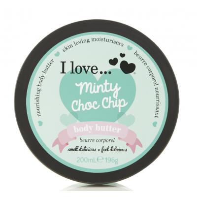 I Love Cosmetics Body Butter Minty Choc Chip 200 ml