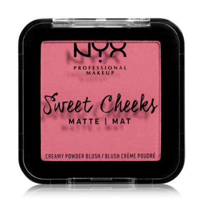 NYX Sweet Cheeks Matte Blush Rose & Play 5 g