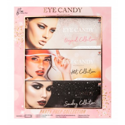 Eye Candy Party Prep Palette Collection 3 kpl