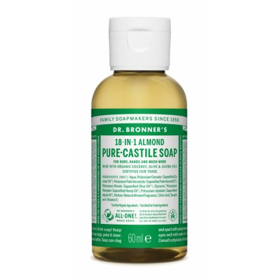 Dr. Bronner's Castile Soap Almond 60 ml