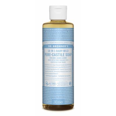 Dr. Bronner's Castile Soap Baby Mild Neutral 240 ml