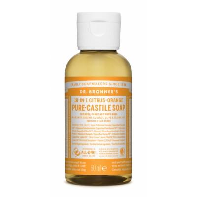 Dr. Bronner's Castile Soap Citrus Orange 60 ml