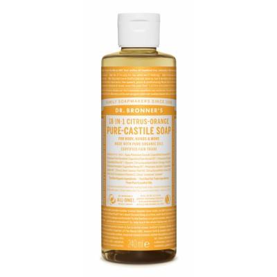 Dr. Bronner's Castile Soap Citrus Orange 240 ml