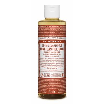 Dr. Bronner's Castile Soap Eucalyptus 240 ml