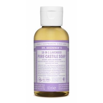 Dr. Bronner's Castile Soap Lavender 60 ml