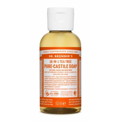 Dr. Bronner's Castile Soap Tea Tree 60 ml