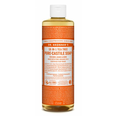 Dr. Bronner's Castile Soap Tea Tree 475 ml