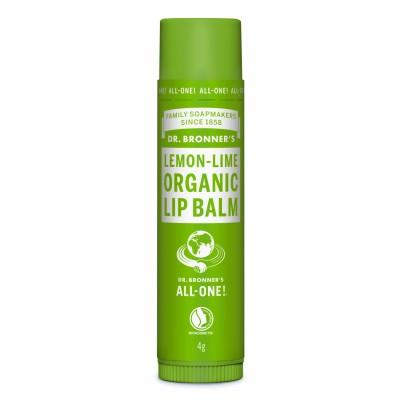 Dr. Bronner's Organic Lip Balm Lemon & Lime 4 g