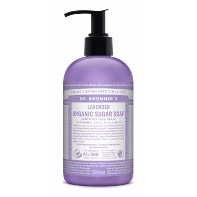 Dr. Bronner's Organic Sugar Soap Lavender 355 ml