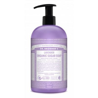 Dr. Bronner's Organic Sugar Soap Lavender 710 ml