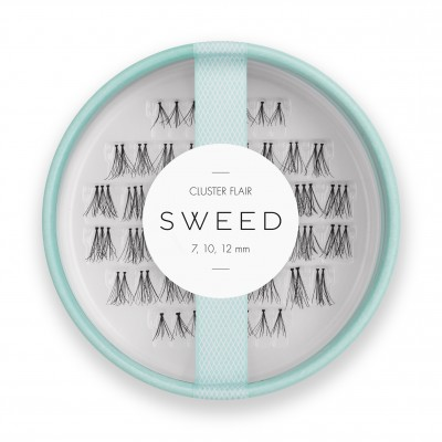 Sweed Lashes Pro Lashes Cluster Flair 7 mm + 10 mm + 12 mm