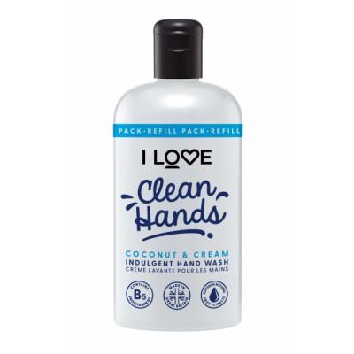 I Love Cosmetics Hand Wash Coconut & Cream 500 ml
