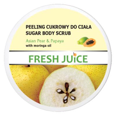 Fresh Juice Sugar Body Scrub Asian Pear & Papaya 225 ml