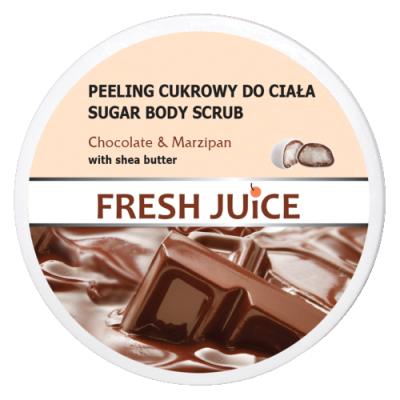 Fresh Juice Sugar Body Scrub Chocolate & Marcipan 225 ml