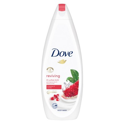 Dove Reviving Body Wash With Pomegranate & Hibiscus Tea 600 ml
