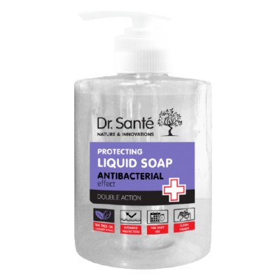 Dr. Santé Antibacterial Protecting Liquid Soap Tea Tree Oil & Lavender 500 ml