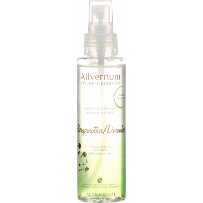 Allvernum Fragrance Body Mist Bergamot & Lime 125 ml