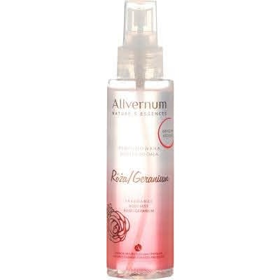 Allvernum Fragrance Body Mist Rose & Geranium 125 ml