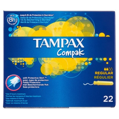 Tampax Compak Regular 22 kpl