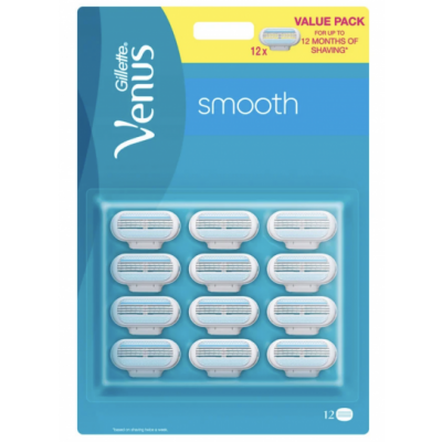 Gillette Venus Smooth Razor Blades 12 stk